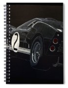 Ford Gt40 Racing Spiral Notebook