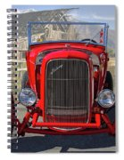 Ford Hiboy Hot Rod Spiral Notebook