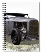 Ford Hot Rod Roadster Spiral Notebook
