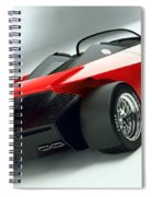 Ford Indigo Concept 2 Spiral Notebook