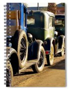 Ford Lineup Spiral Notebook