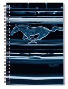 Ford Mustang Grille Spiral Notebook
