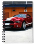 Ford Mustang Shelby Gt500 Spiral Notebook