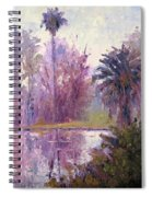 Ford Park-cloudy Morning Spiral Notebook