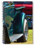Ford Pickup Fender Spiral Notebook