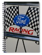 Ford Racing Emblem Spiral Notebook