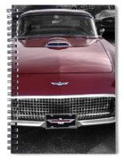 Ford Thunderbird Red V1 Spiral Notebook