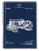 Ford Tractor Patent 1919 Spiral Notebook