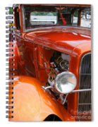Ford V8 Right Side View Spiral Notebook