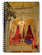 Ford's Theatre President's Box Spiral Notebook