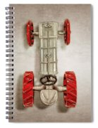 Fordson Tractor Top Spiral Notebook