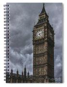 Foreboding Spiral Notebook