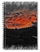 Foreboding Dusk Spiral Notebook