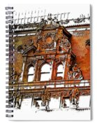 Forefathers Earthy Rainbow 3 Dimensional Spiral Notebook