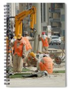 Foreign Workers - Manama Bahrain Spiral Notebook
