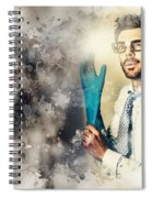 Forensic Analysis With Crime Scene Intelligence Spiral Notebook