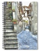 Foreshortening With Stairs Spiral Notebook