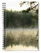 Forest And Fog Spiral Notebook