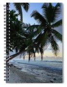 Forest Beach 2 Spiral Notebook