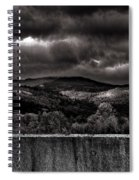 Forest Behind The Wall Spiral Notebook
