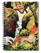 Forest Brook By August Macke Spiral Notebook