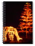 Forest Christmas Spiral Notebook