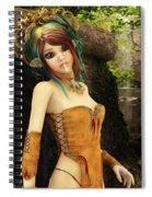 Forest Fairy Spiral Notebook
