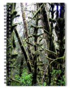 Forest Finery Spiral Notebook
