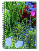 Forest Flowers Different One Spiral Notebook