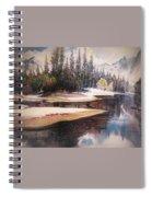 Forest Green Spiral Notebook