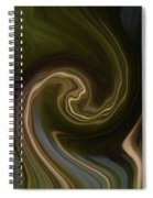 Forest Illusions-whispers On The Wind Spiral Notebook