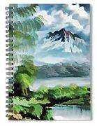 Forest Impression 18 Spiral Notebook