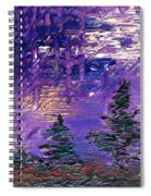Forest In Lsd Spiral Notebook