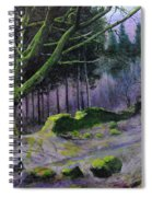Forest In Wales Spiral Notebook