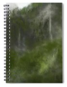 Forest Landscape 10-31-09 Spiral Notebook