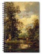 Forest Landscape 1840 Spiral Notebook