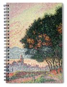 Forest Near St Tropez Spiral Notebook
