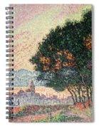 Forest Near St Tropez Spiral Notebook