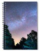 Forest Night Light Spiral Notebook