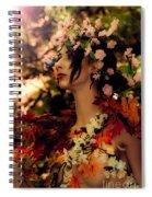 Forest Nymph Spiral Notebook