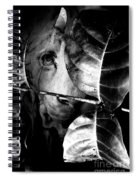 Forest Of The Labyrinth Lion Spiral Notebook