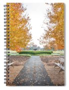 Forest Park Benches Spiral Notebook