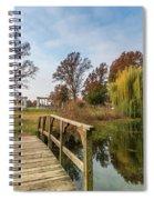 Forest Park Columns 2 Spiral Notebook