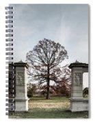 Forest Park Columns Spiral Notebook