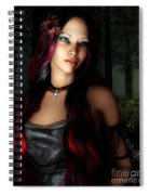 Forest Princess Spiral Notebook