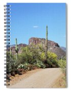 Forest Road 172 Tonto National Forest Spiral Notebook