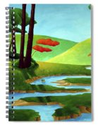 Forest Stream - Through The Forest Series Spiral Notebook