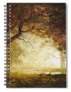 Forest Sunrise Spiral Notebook