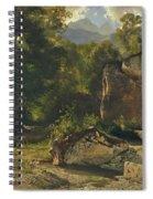 Forest Track. 1855 Spiral Notebook