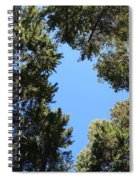Forest Treetops Spiral Notebook